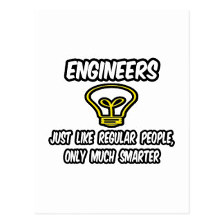 Gente regular de los ingenieros…, solamente más postal