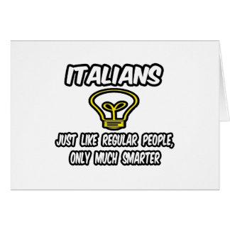 Gente regular de los italianos… solamente más ele felicitacion