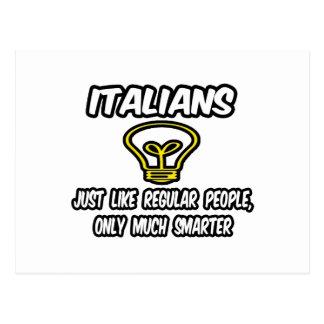 Gente regular de los italianos… solamente más ele postal