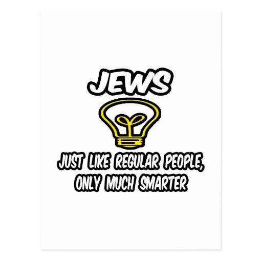 Gente regular de los judíos…, solamente mucho más postales