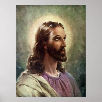 Gente religiosa del vintage, retrato del póster