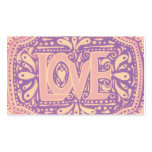 Gentel Love Double-Sided Standard Business Cards (Pack Of 100)