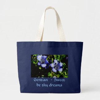 Gentian Dreams Canvas Bag