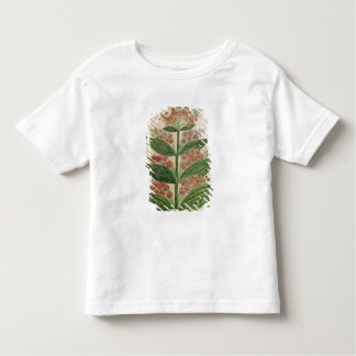 Gentian with imaginary flowers tee shirt