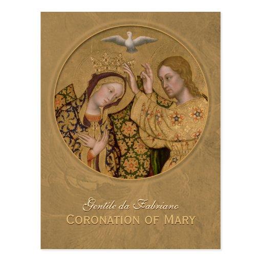 Gentile da Fabriano Coronation CC0636 Postcard