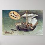 Gentile da Fabriano - Rescue the sailors Poster