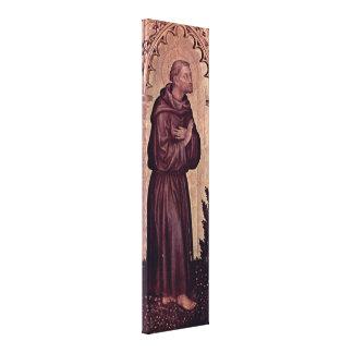 Gentile da Fabriano - St Francis Canvas Prints