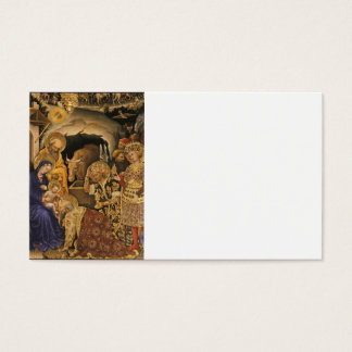Gentile Dei Fabriano Adoration of Magi Business Card