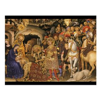 Gentile Dei Fabriano Adoration of Magi Postcard