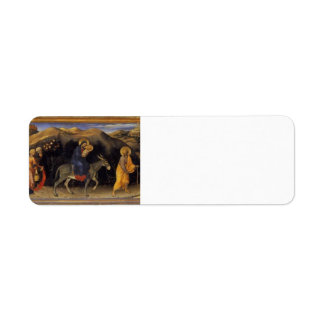 Gentile Fabriano- Adoration of the Magi Altarpiece Return Address Labels