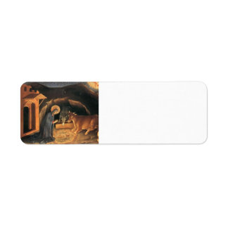 Gentile Fabriano-Adoration of the Magi Altarpiece Return Address Label