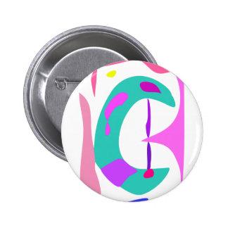 Gentle 2 Inch Round Button