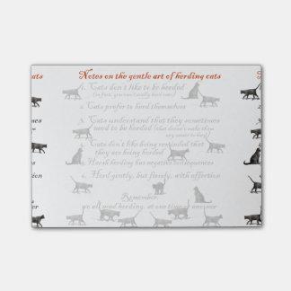 Gentle Art of Herding Cats - Post-it® Notes