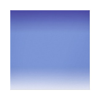 Gentle Blues Wrapped Canvas Stretched Canvas Prints