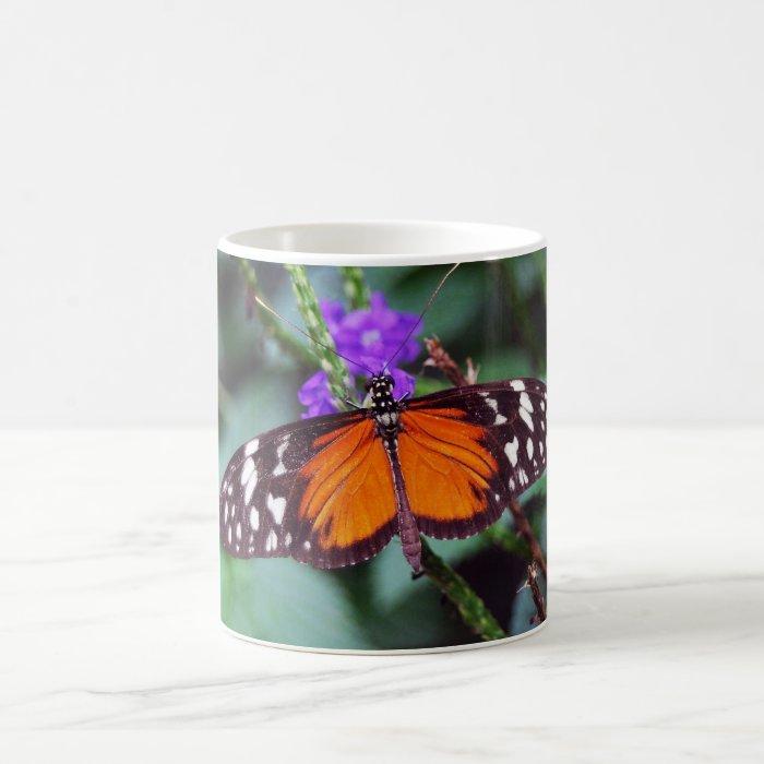 Gentle Butterfly open Coffee Mug