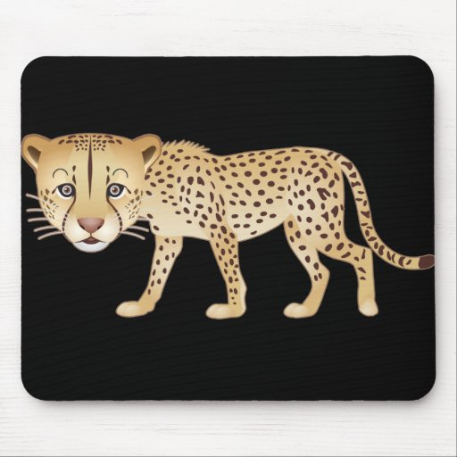Gentle Cheetah Mouse Pad