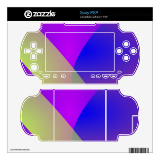 Gentle Colors Decal For The PSP