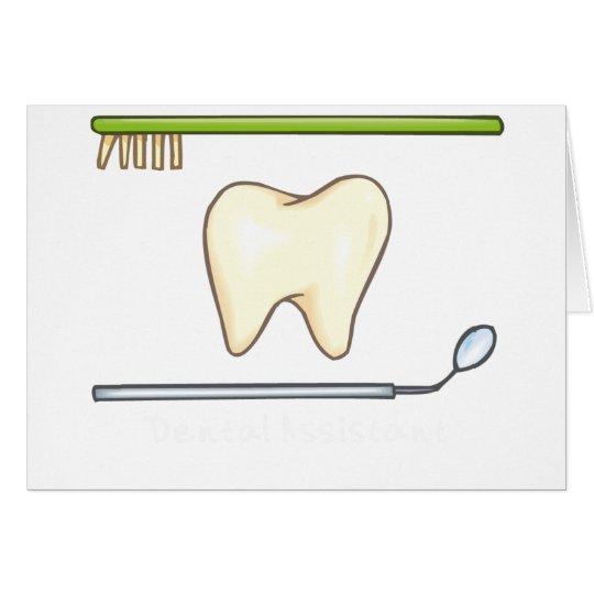 Gentle Dental- tooth mirror brush Card