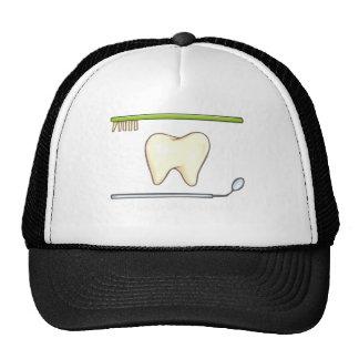 Gentle Dental- tooth mirror brush Trucker Hat