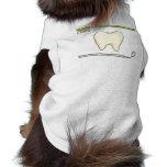 Gentle Dental- tooth mirror brush Pet Tshirt