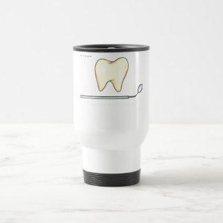 Gentle Dental- tooth mirror brush Travel Mug