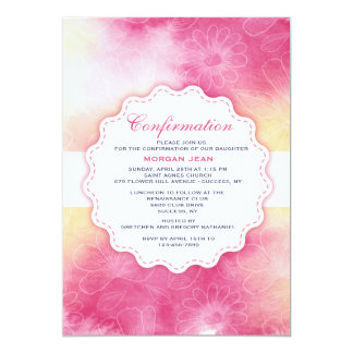 Gentle Floral Invitation