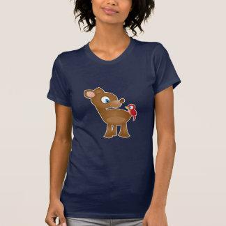 Gentle Friends: Deer and Bird T-Shirt