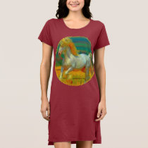 Gentle Giant Horse Women's T-shirt Dress