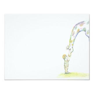 Gentle Giraffe Card