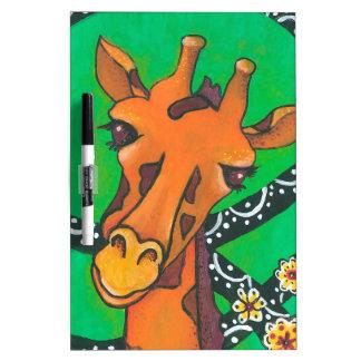 Gentle Giraffe Dry-Erase Board