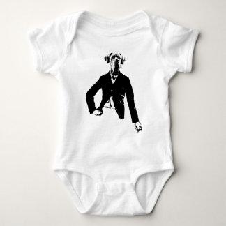 Gentle great dane baby bodysuit