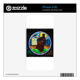 Gentle Heretic Skin For iPhone 4S