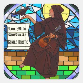 Gentle Heretic Square Sticker