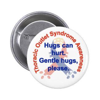 Gentle Hugs TOS Awareness Pin