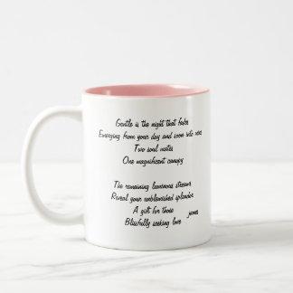 Gentle Is The Night Two-Tone Coffee Mug