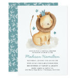 Gentle Lion Virtual Baby Shower Invitation