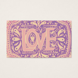 Gentle Love Business Card