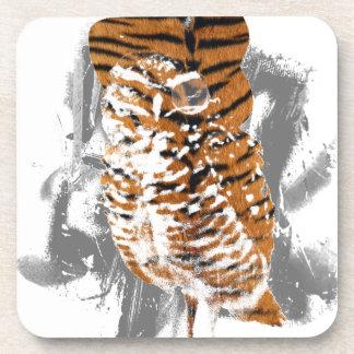 gentle-owl drink coaster