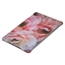 Gentle Pink Rose Blooms - Flower photography iPad Air Cases