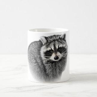 Gentle Racoon Mug. Coffee Mug