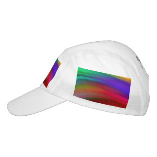 Gentle Rainbow Waves Abstract Headsweats Hat