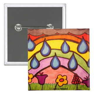 Gentle Raindrops Buttons