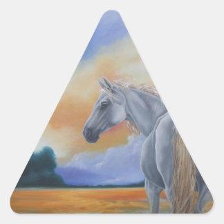 Gentle Spirit Triangle Sticker