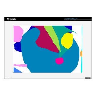 Gentle Stare Blue Surface Tranquility Leaf Laptop Skin