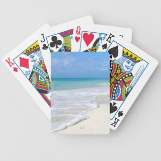 Gentle Surf Bicycle Playing Cards