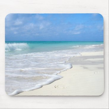 Beach Themed Gentle Surf Mouse Pad