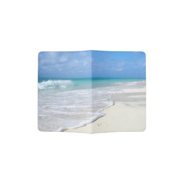 Beach Themed Gentle Surf - Passport Holder