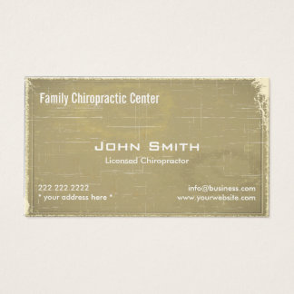 Gentle Touch Chiropractic & Wellness Business Card