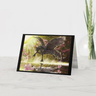 Gentle Touch Greeting Card zazzle_card