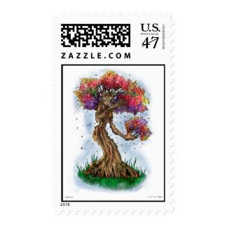 Gentle Tree postage stamp
